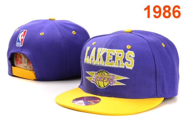 Los Angeles Lakers NBA Snapback Hat PT007