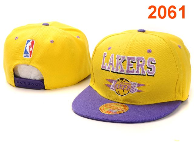 Los Angeles Lakers NBA Snapback Hat PT041