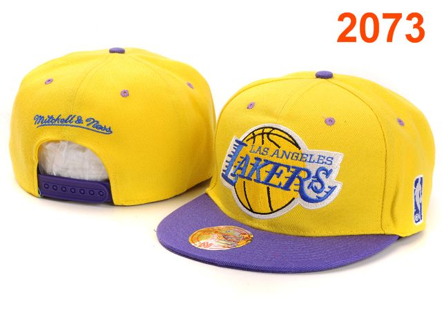 Los Angeles Lakers NBA Snapback Hat PT051