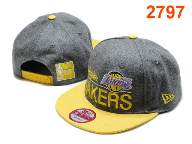 Los Angeles Lakers NBA Snapback Hat PT093