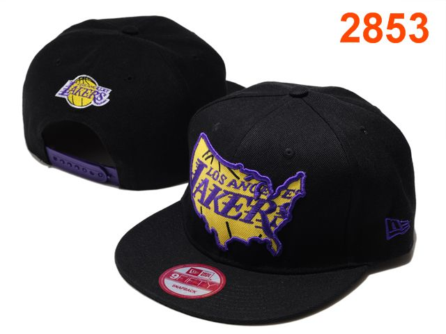 Los Angeles Lakers NBA Snapback Hat PT108