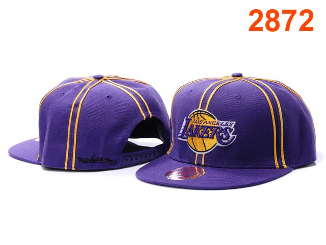 Los Angeles Lakers NBA Snapback Hat PT115