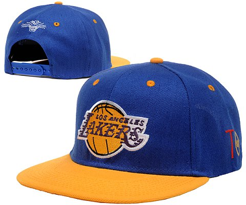 Los Angeles Lakers NBA Snapback Hat SD02