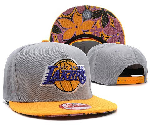 Los Angeles Lakers NBA Snapback Hat SD17