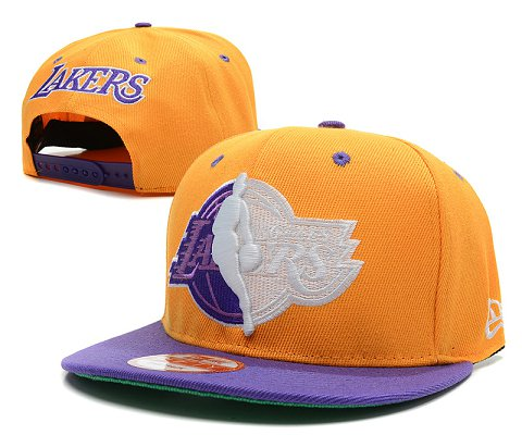 Los Angeles Lakers NBA Snapback Hat SD18