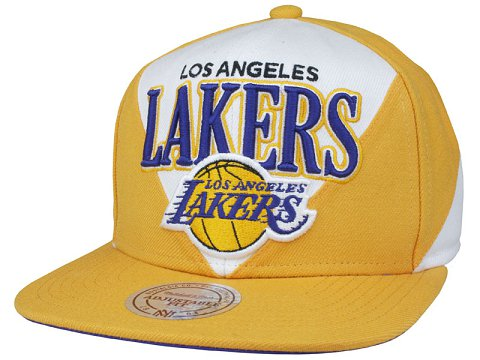 Los Angeles Lakers NBA Snapback Hat SD19