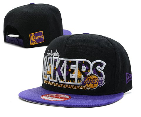 Los Angeles Lakers NBA Snapback Hat SD20