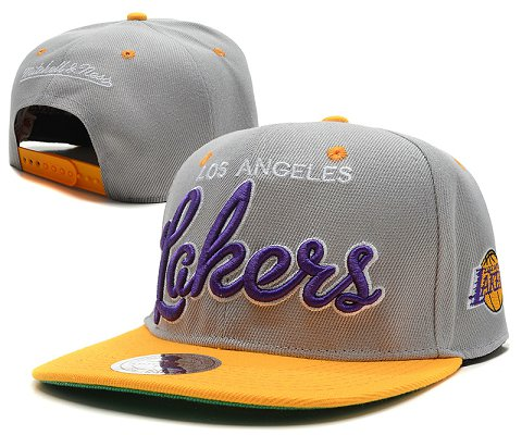 Los Angeles Lakers NBA Snapback Hat SD21