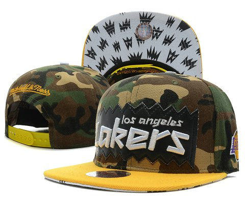 Los Angeles Lakers NBA Snapback Hat SD22