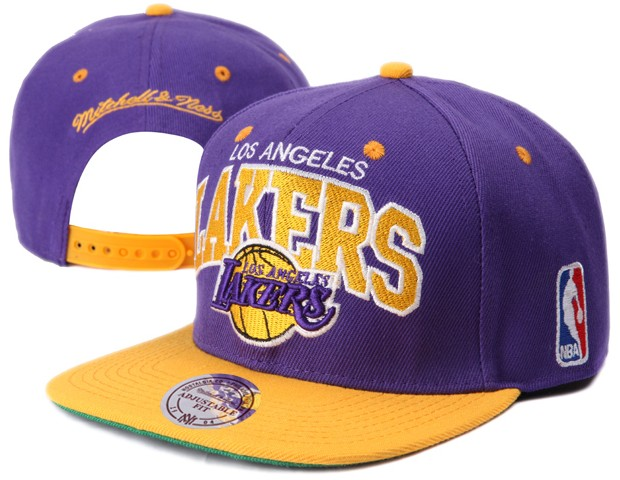Los Angeles Lakers NBA Snapback Hat XDF001