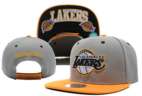 Los Angeles Lakers NBA Snapback Hat XDF095