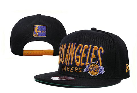 Los Angeles Lakers NBA Snapback Hat XDF116
