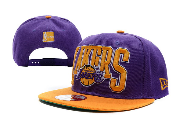 Los Angeles Lakers NBA Snapback Hat XDF138