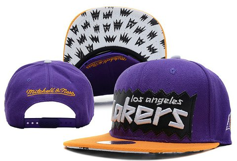 Los Angeles Lakers NBA Snapback Hat XDF190