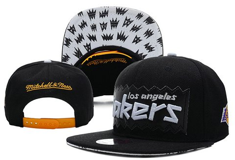 Los Angeles Lakers NBA Snapback Hat XDF191