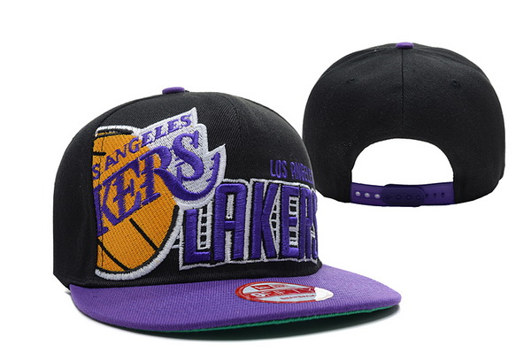 Los Angeles Lakers NBA Snapback Hat XDF226