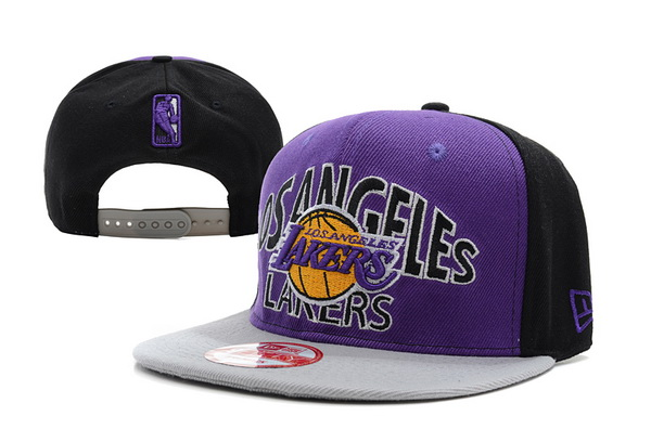 Los Angeles Lakers NBA Snapback Hat XDF227