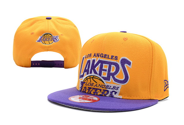 Los Angeles Lakers NBA Snapback Hat XDF237