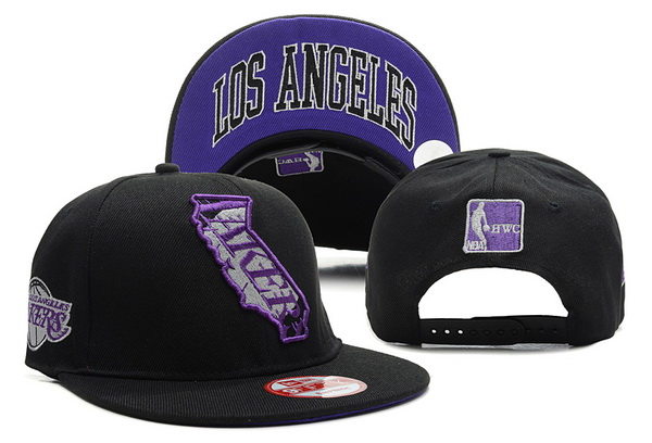 Los Angeles Lakers NBA Snapback Hat XDF297