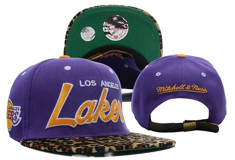 Los Angeles Lakers NBA Snapback Hat XDF322