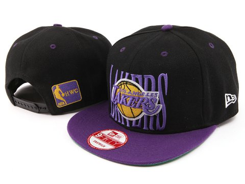 Los Angeles Lakers NBA Snapback Hat YS025