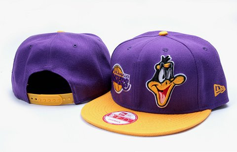 Los Angeles Lakers NBA Snapback Hat YS120