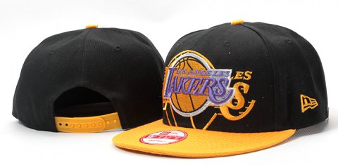 Los Angeles Lakers NBA Snapback Hat YS128