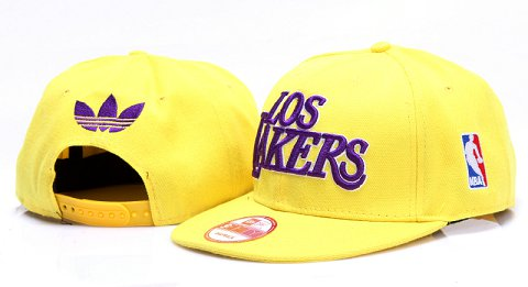 Los Angeles Lakers NBA Snapback Hat YS133
