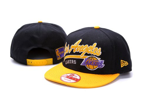 Los Angeles Lakers NBA Snapback Hat YS140