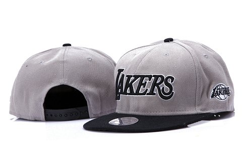Los Angeles Lakers NBA Snapback Hat YS152