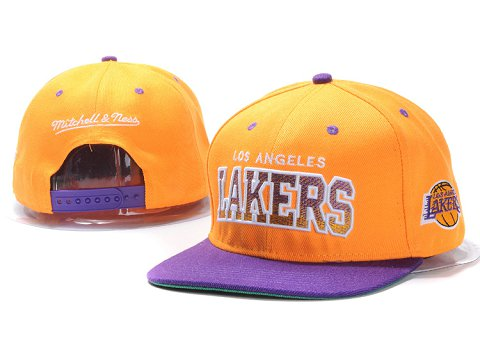 Los Angeles Lakers NBA Snapback Hat YS158