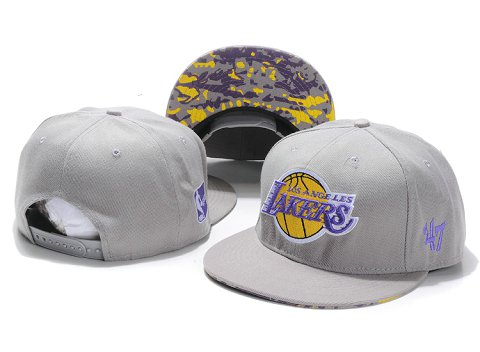 Los Angeles Lakers NBA Snapback Hat YS173