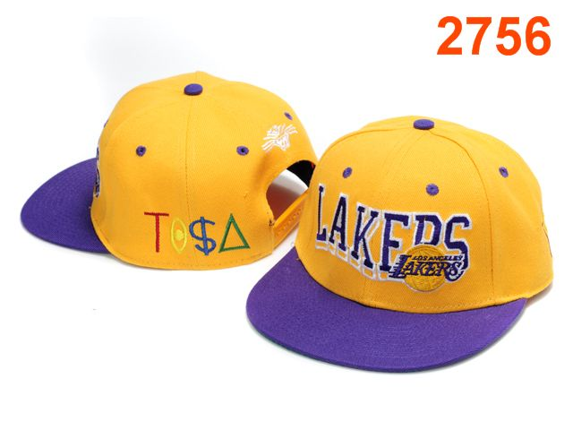 Los Angeles Lakers TISA Snapback Hat PT44