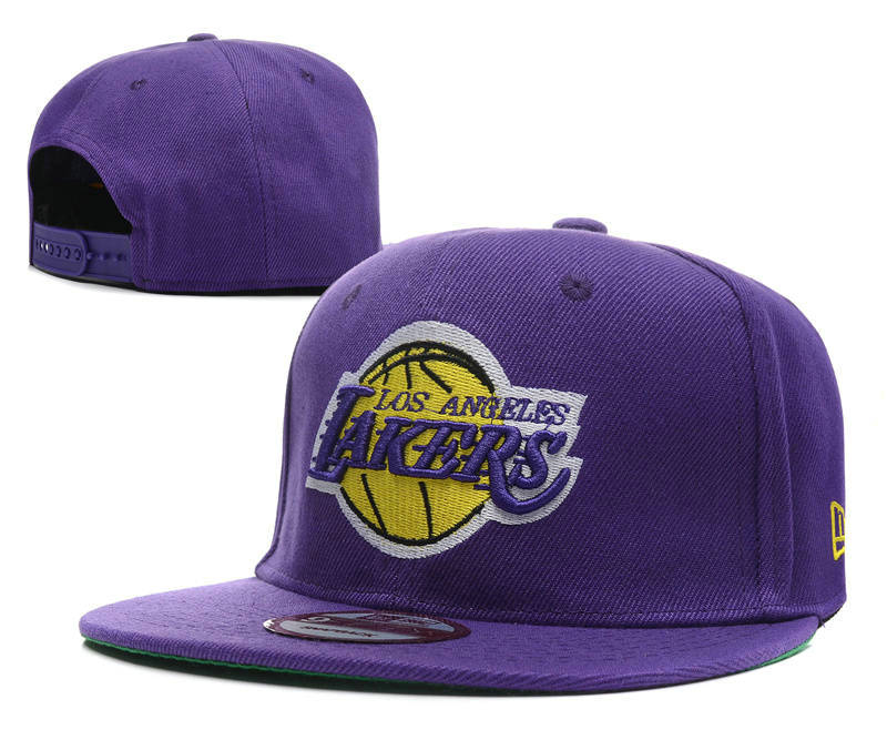 Los Angeles Lakers Snapback Hat DF2 0512