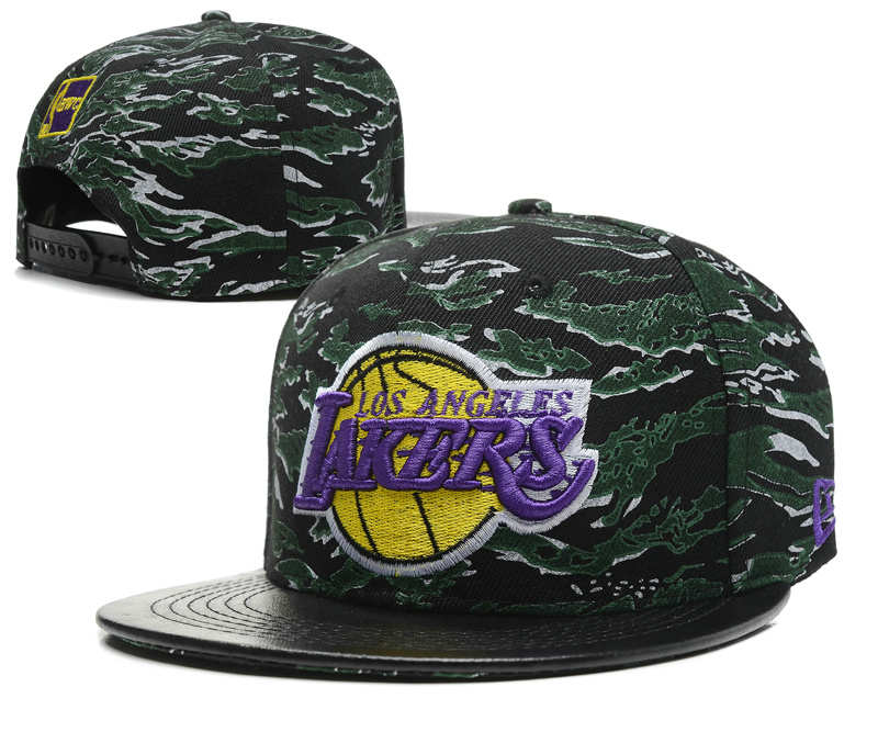 Los Angeles Lakers Snapbacks Hat SD 0512