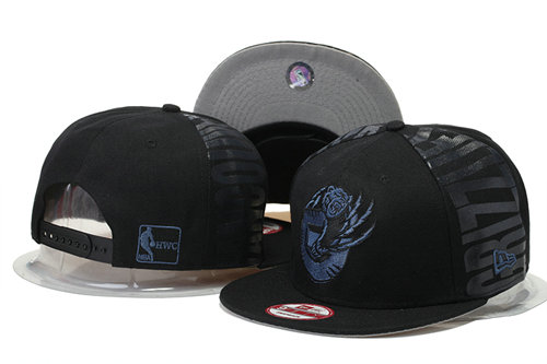 Memphis Grizzlies Snapback Black Hat GS 0620