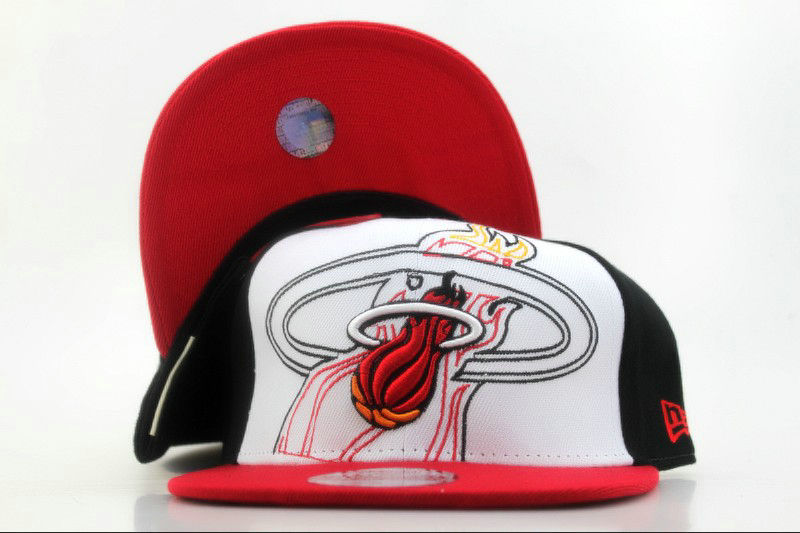 Miami Heat Snapback Hat QH