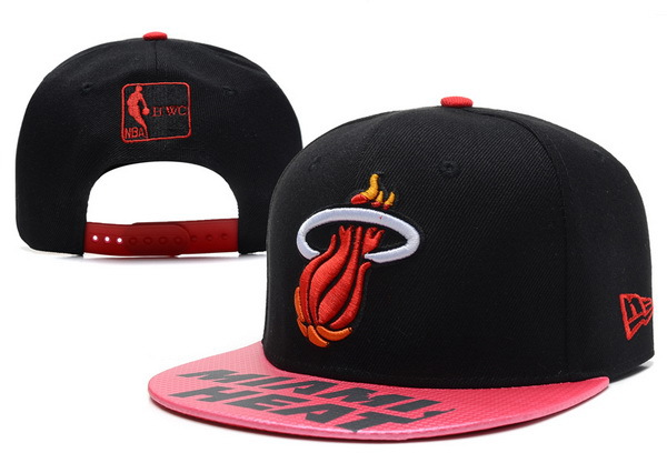 Miami Heat Snapback Hat XDF 16