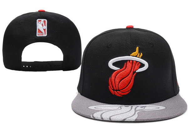 Miami Heat Snapback Hat XDF 31