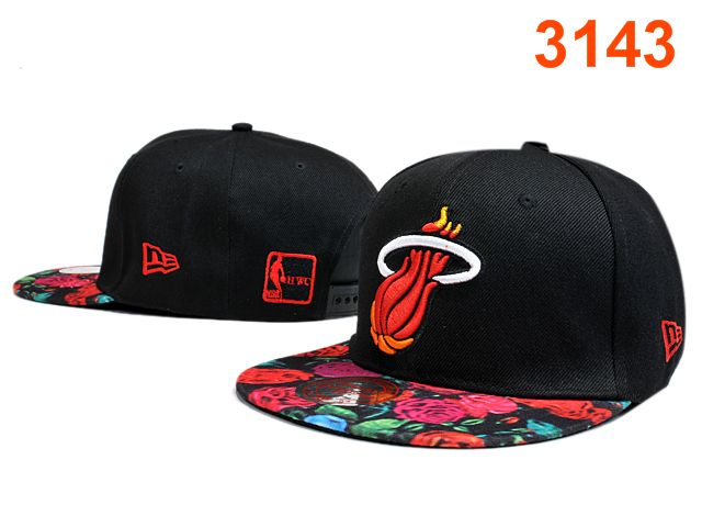 Miami Heat Snapback Hat PT 1 0528