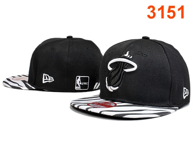 Miami Heat Snapback Hat PT 2 0528