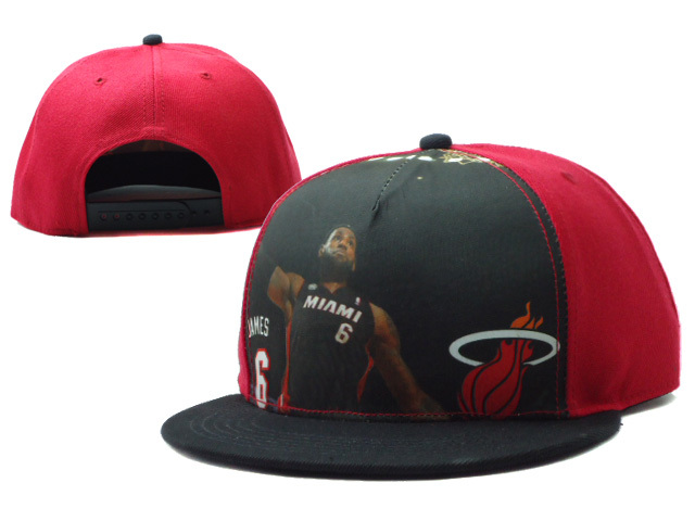Miami Heat Snapback Hat SF 0528