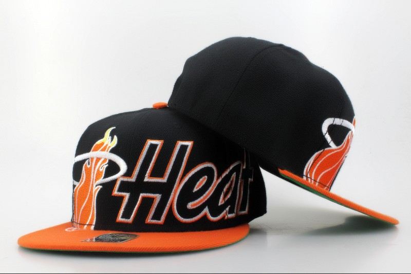 Miami Heat Snapback Hat QH 2 0606