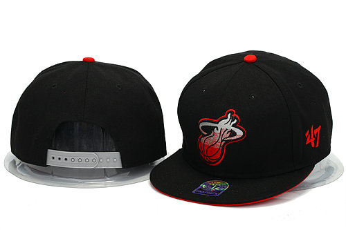 Miami Heat Snapback Hat YS 0606