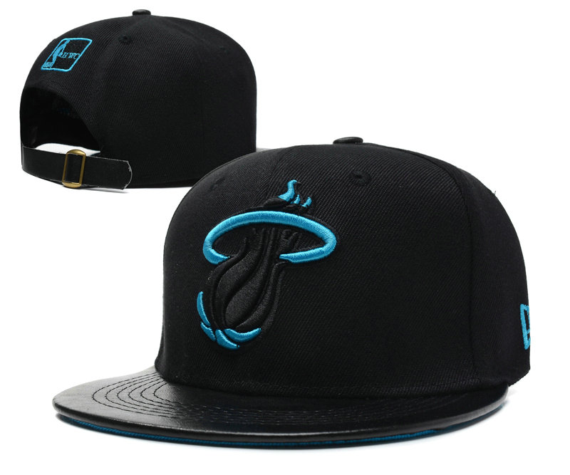 Miami Heat Snapback Hat SD 9