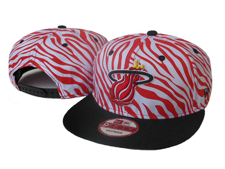 Miami Heat Snapback Hat SJ 1