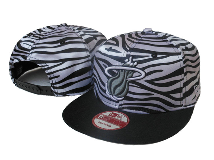Miami Heat Snapback Hat SJ 2