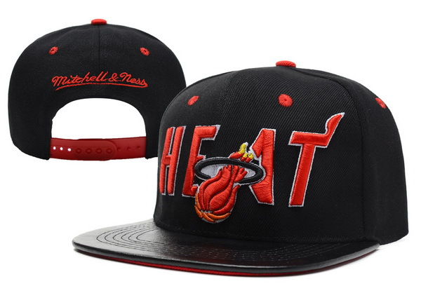 Miami Heat Snapback Hat XDF 17