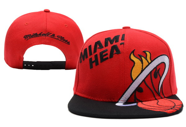 Miami Heat Snapback Hat XDF 18