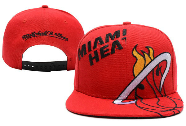Miami Heat Snapback Hat XDF 19